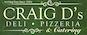 Craig D's Deli & Pizza logo
