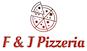F & J Pizzeria logo