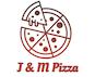 J & M Pizza logo
