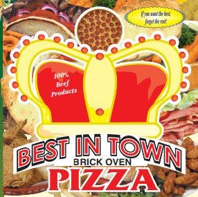 Best In Town Brick Oven Pizza