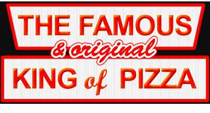 King of Pizza  logo