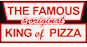 The Famous & Original King of Pizza logo