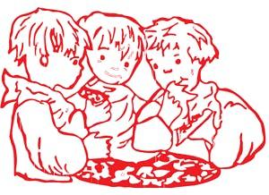 Three Boys From Italy