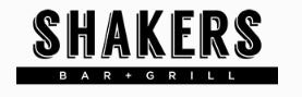 Shakers Bar & Grill logo