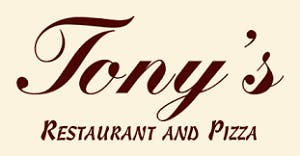 Tony's Italian Restaurant & Pizza