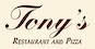 Tony's Italian Restaurant & Pizza logo