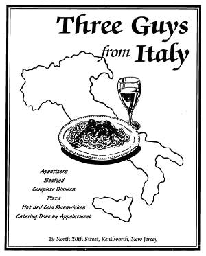 Three Guys From Italy
