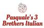 Pasquale's 3 Brothers Italian logo