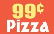 99 Cent Village Pizza logo