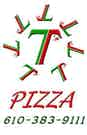 7T's Pizza logo