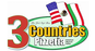 3 Countries Pizzeria logo