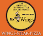 Mr. Wings Pizza logo