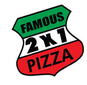 Famous 2 For 1 Pizza logo