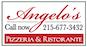 Angelos Pizza logo