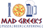 Mad Greek's Pizza, Beer & Catering logo