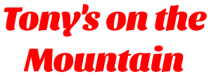 Tony's on the Mountain logo