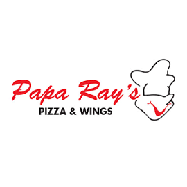 Papa Ray's Pizza & Wings logo
