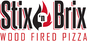 Stix n Brix Wood Fired Pizza logo