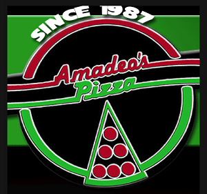 Amadeo's Pizza  logo