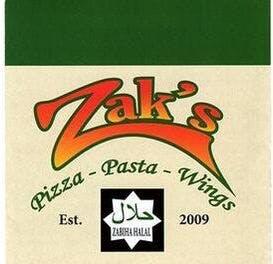 Zak's Pizza Pasta & Wings