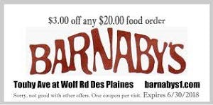 Barnaby's of Des Plaines