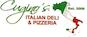 Cugino's Italian Deli & Pizza logo