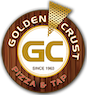 Golden Crust Pizza & Tap logo
