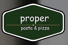 Proper Pasta Pizza