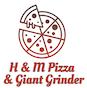 H & M Pizza & Giant Grinder logo