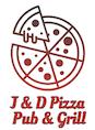J & D Pizza Pub & Grill logo