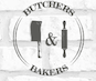 Butchers & Bakers logo