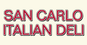 San Carlo Italian Deli logo