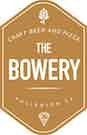 The Bowery Craft Beer & Pizza logo