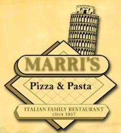 Marri's Pizza & Pasta