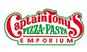 Captain Tony's Pizza & Pasta logo