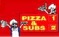 Pizza 1 & Subs 2 logo
