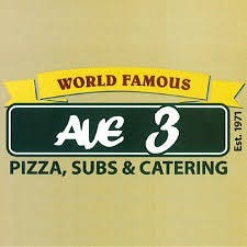 Ave 3 Pizza Subs & Catering