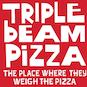 Triple Beam Pizza logo