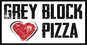 Grey Block Pizza logo