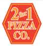 Two For One Pizza Co logo