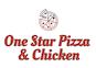 One Star Pizza & Chicken logo