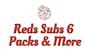 Reds Subs 6 Packs & More logo