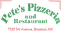 Pete's Pizzeria & Restaurant logo