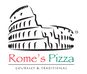 Rome's Pizza logo