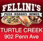 Fellini's Turtle Creek logo
