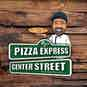 Pizza Express Center Street logo