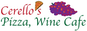 Cerello's Pizza, Wine Cafe  logo