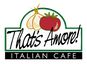 That's Amore Italian Cafe logo
