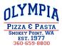 Olympia Pizza & Pasta Italian logo