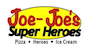 Joe-Joe's Super Heroes & Pizza logo